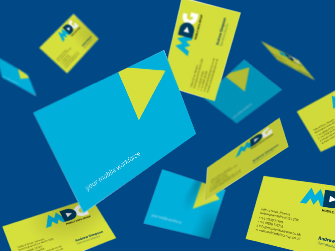 Mobile Data Group, business cards