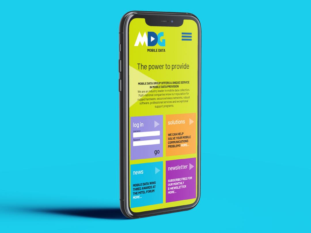 Mobile Data Group, mobile app