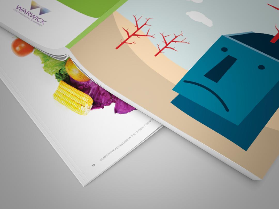 CAGE, Magazine design